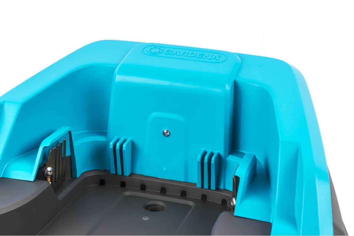gardena ladestation f r m hroboter r40 r45 r70li 199 00. Black Bedroom Furniture Sets. Home Design Ideas