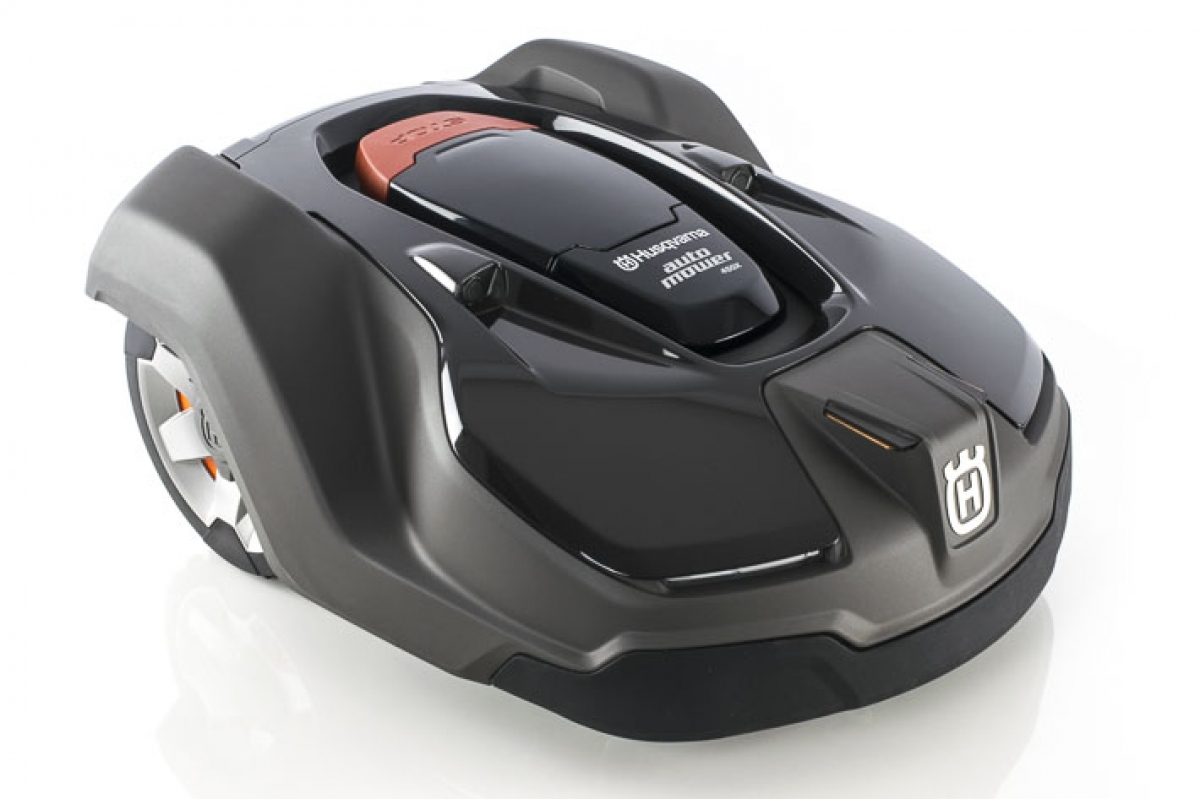 husqvarna automower 450 x line m hroboter mit eingebautem gps und connect. Black Bedroom Furniture Sets. Home Design Ideas
