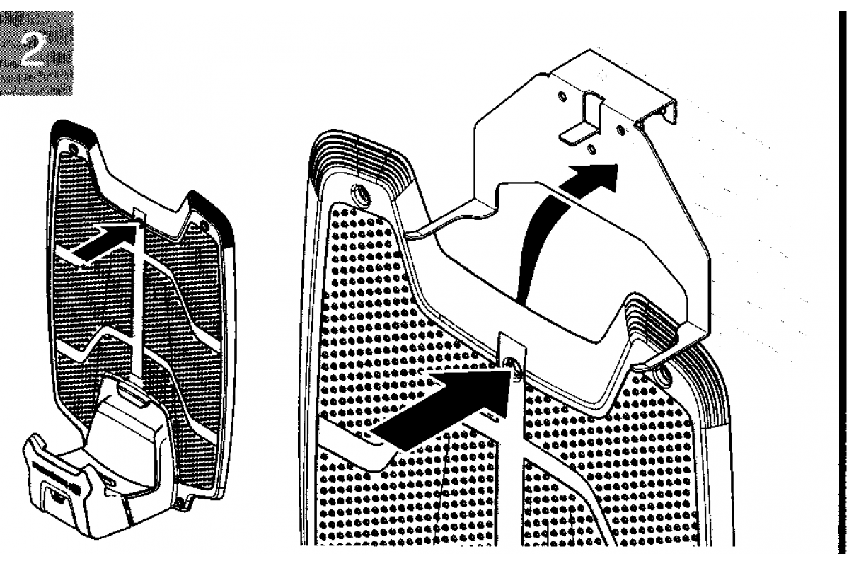 original husqvarna wandhalter f r automower 320 330x 420 43. Black Bedroom Furniture Sets. Home Design Ideas