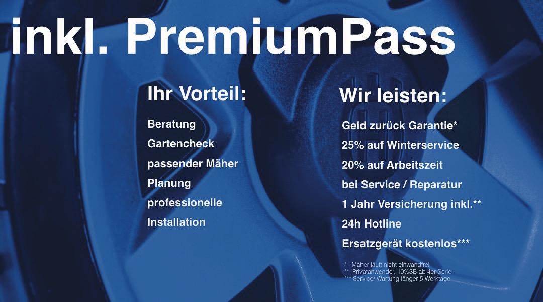 Erklärung robotico Premium Pass alle Leistungen inklusive