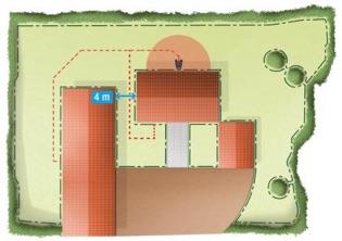 Auch komplizierte Gräten sind möglichAutomower® 440 Mähroboter Mähroboter, Installation, leise, schnell