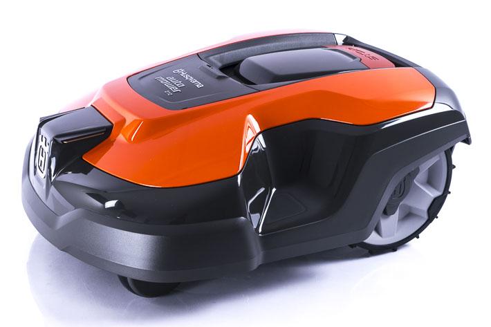 Ganzaufnahme Automower 310 orange