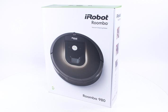 Dei neue Verpackung des Roomba 980