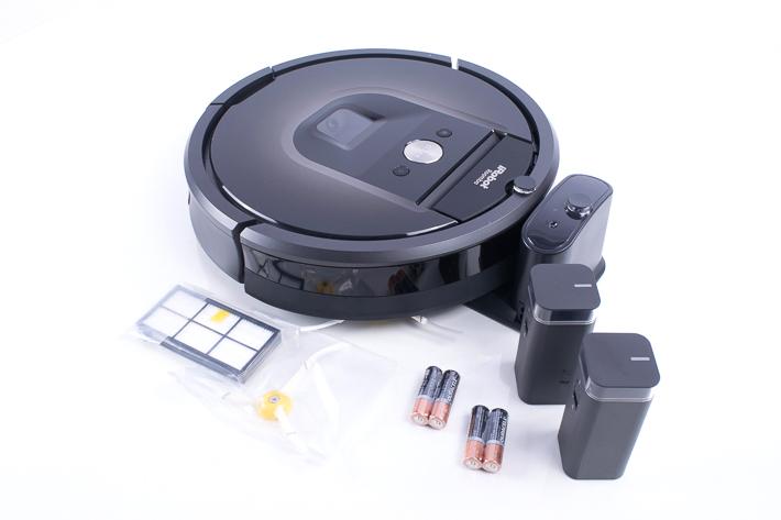 Alles was bei iRobot 980 Roomba dabei ist